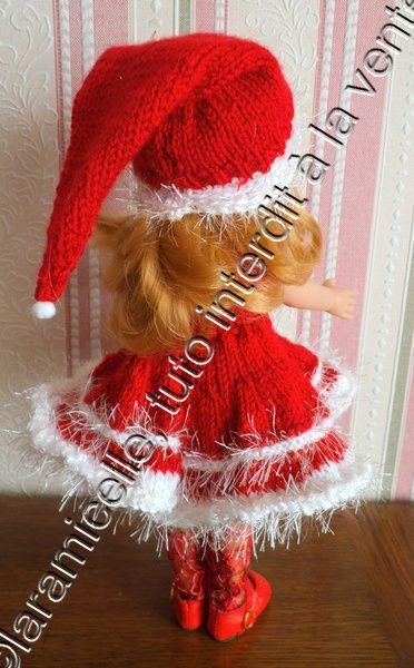 tuto gratuit poupée: bonnet de Noël