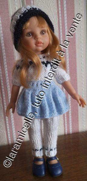 tuto gratuit poupée: guêtres  pour tricoteuses  débutantes