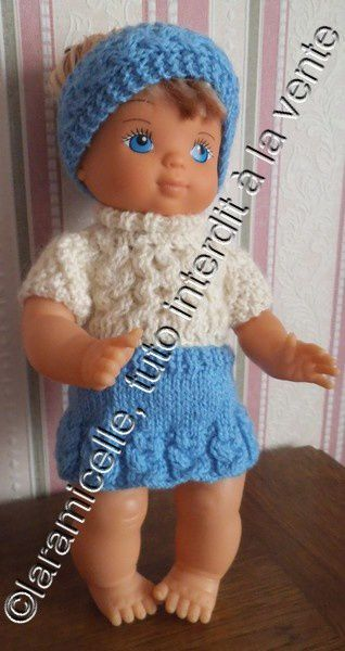 tuto gratuit poupée: bandeau à tresses