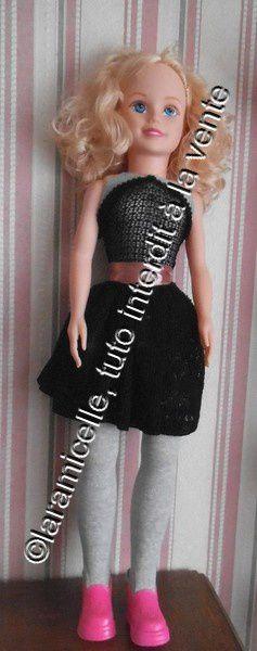 tuto gratuit poupée&#x3B; combinaison et robe pour celles qui ne savent pas coudre