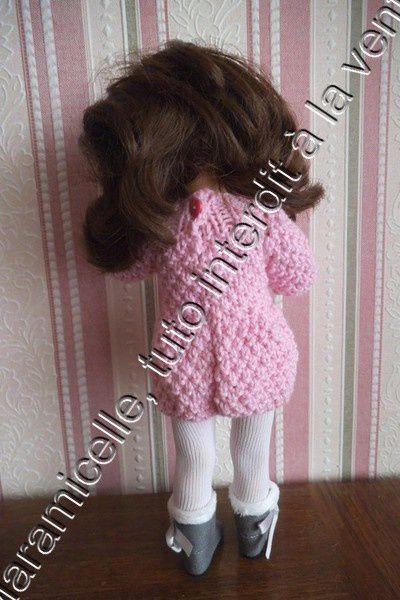 tuto gratuit poupée : robe d'hiver