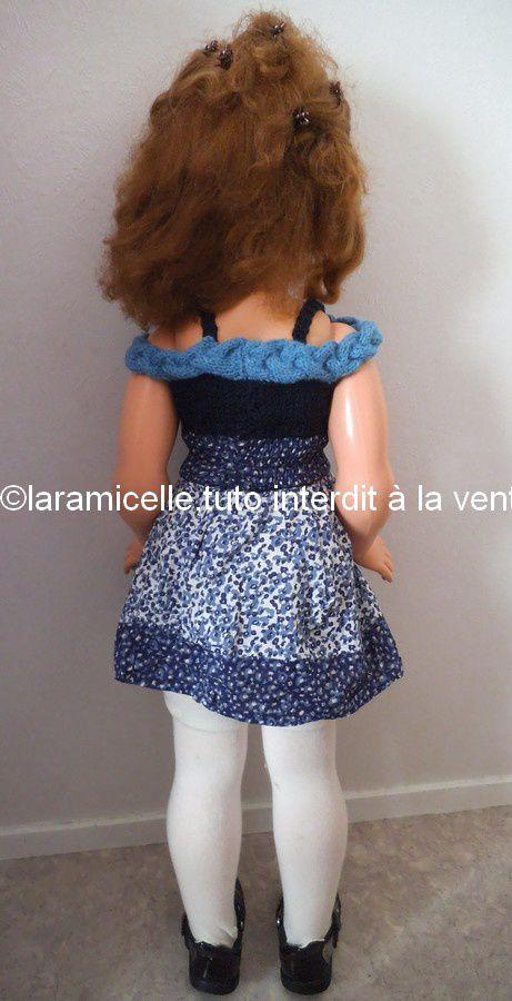tuto gratuit poupée: petit TOP pour Bella