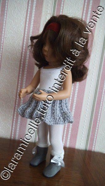tuto gratuit poupée : jupe soleil automnal