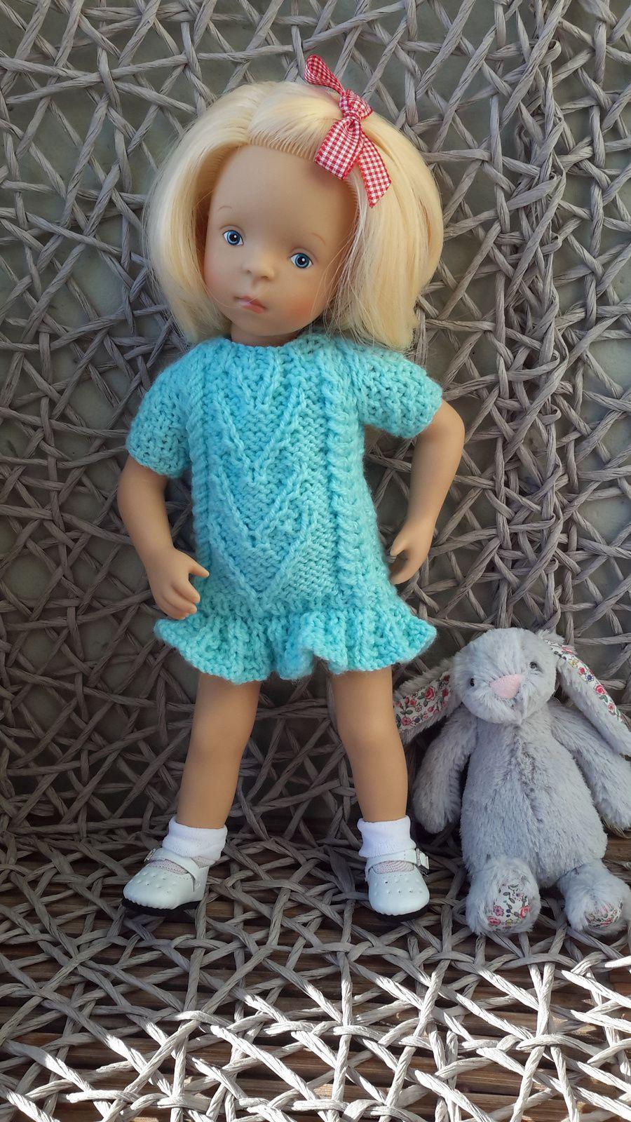 Katia a reçu la robe de Minouche