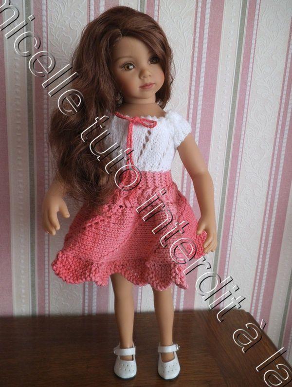 modèle gratuit tricot bébé corolle 30 cm