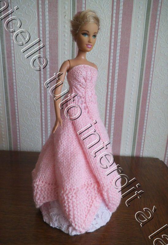 most popular hot sale the latest tuto gratuit Barbie : robe de princesse Rose - Chez Laramicelle