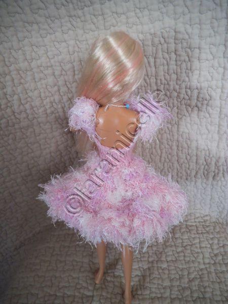 tuto gratuit barbie: robe de fêtes cocon de  douceur et d'audace