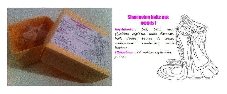Gamme SOS halte aux noeuds : Le shampoing barre
