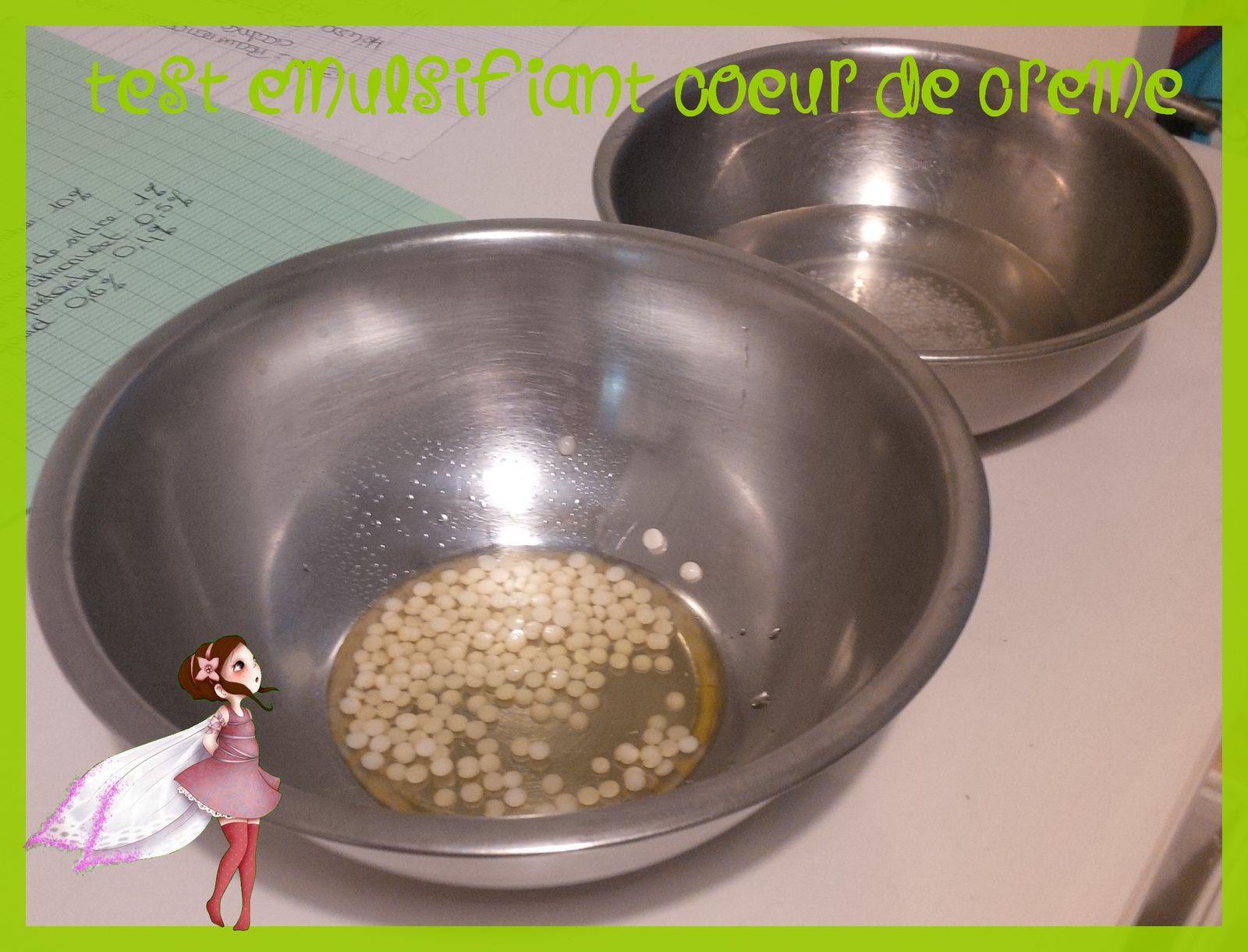 Test Aroma-Zone : Emulsifiant coeur de crème