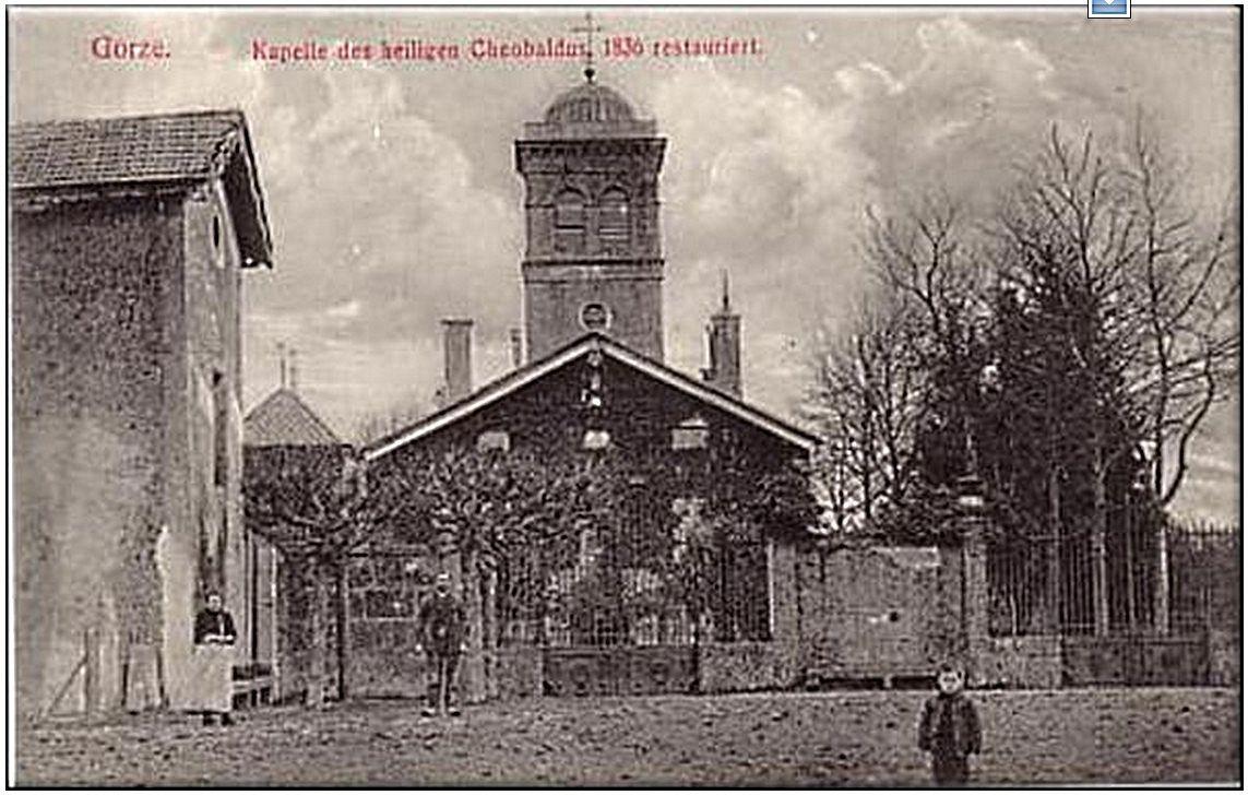 La chapelle Saint Thiébault de Gorze il y a plus de 150 ans