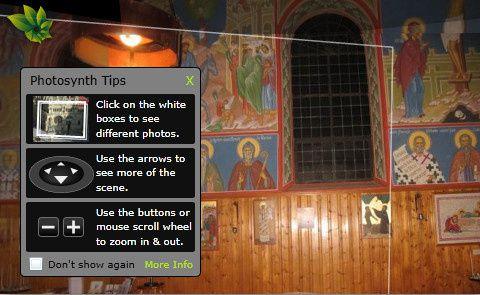 Visite virtuelle de la chapelle de Béthanie