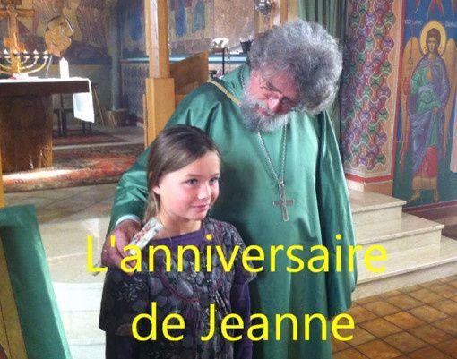 L'anniversaire de Jeanne (vidéo)