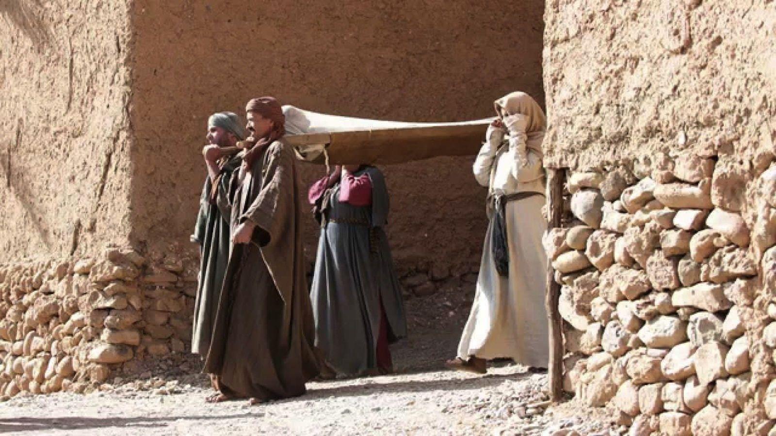 Evangile selon St Luc : la veuve de Naïm