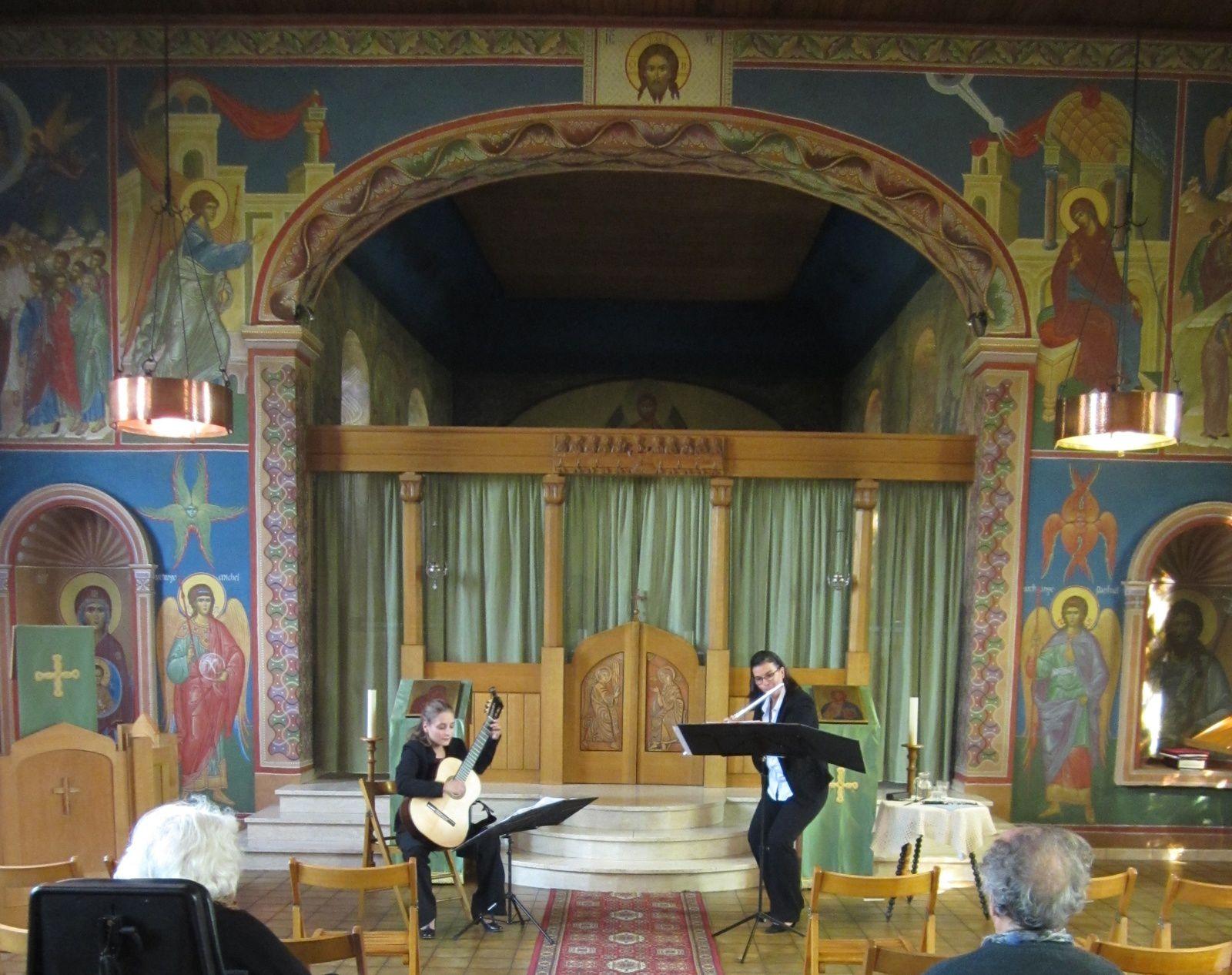 Concert du Duo Quigne à Béthanie