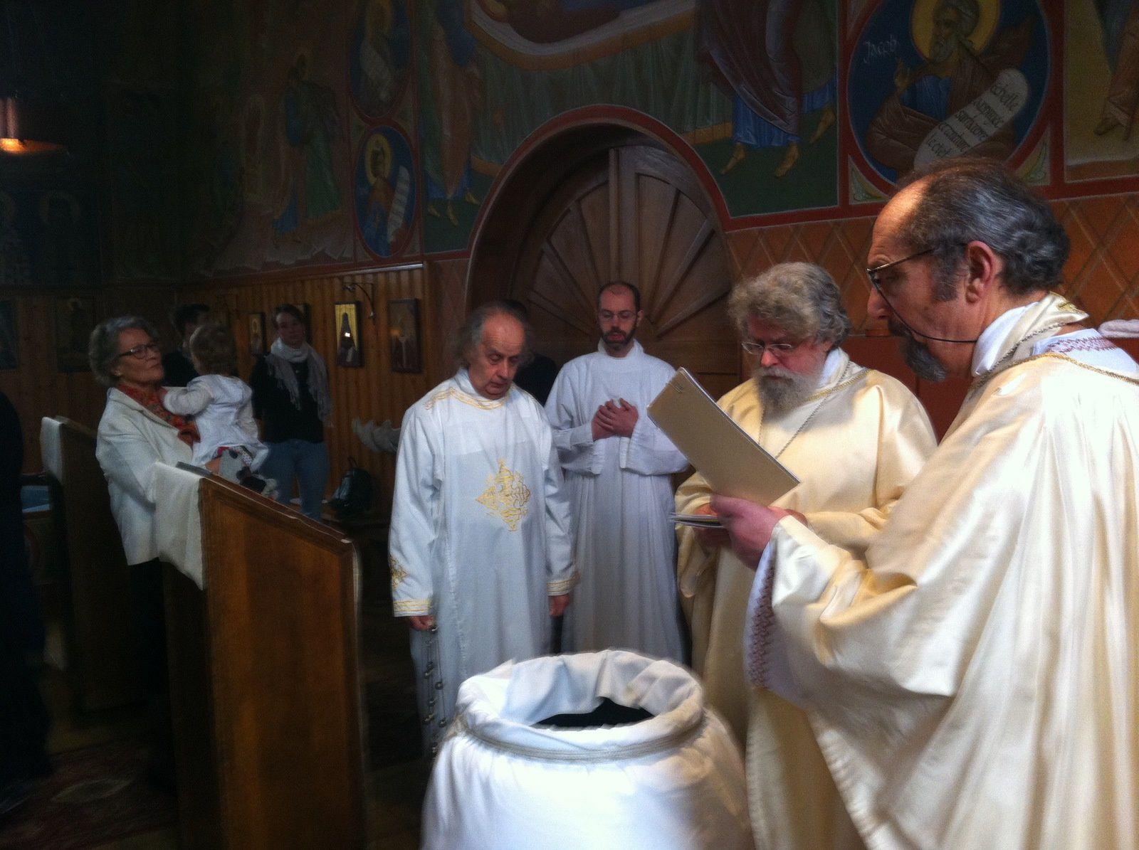 Le baptême d'Héloïse et la Théophanie