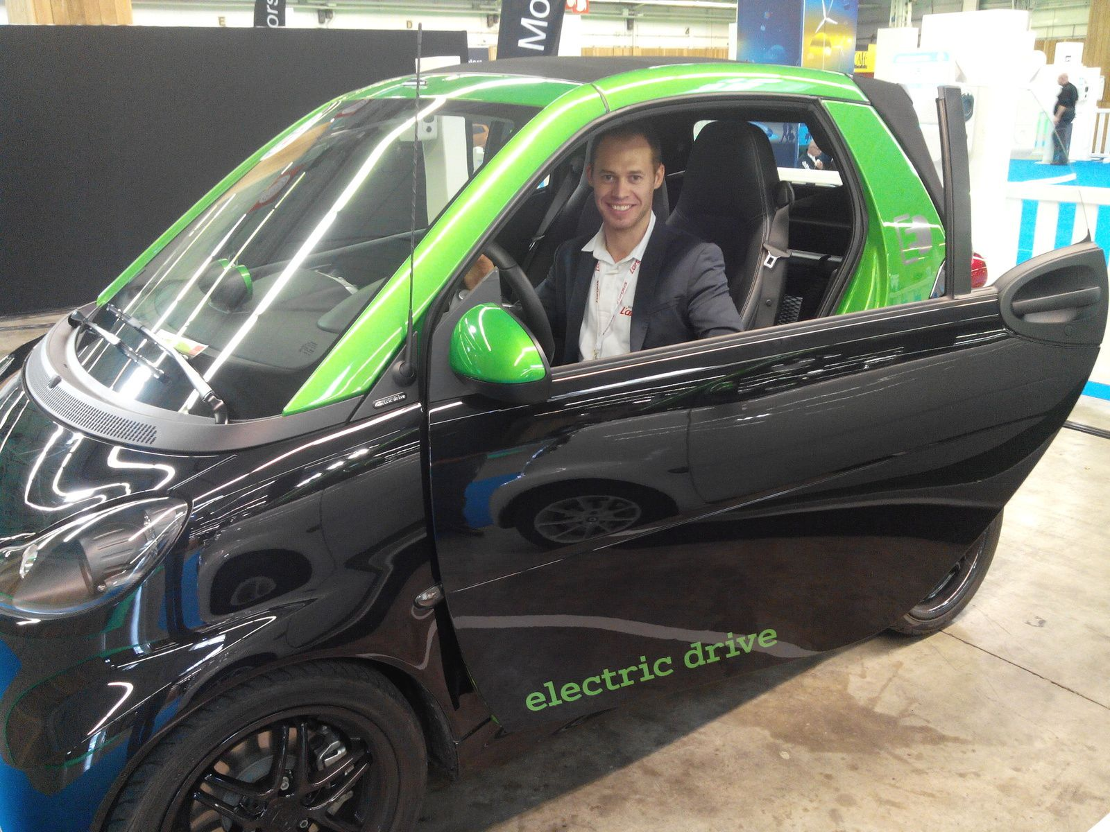 Essai de la Smart Fortwo Brabus electric drive!