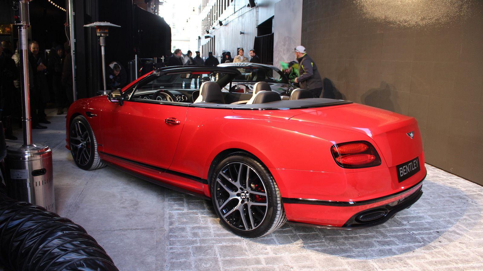 Bentley Continental Supersports...à la frontière de l'extrême!