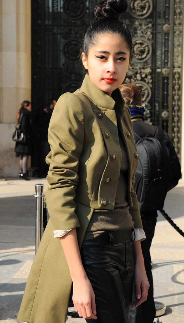 Military army chic mood