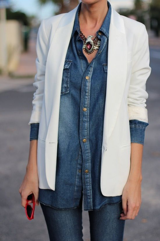 la ' Denim' shirt