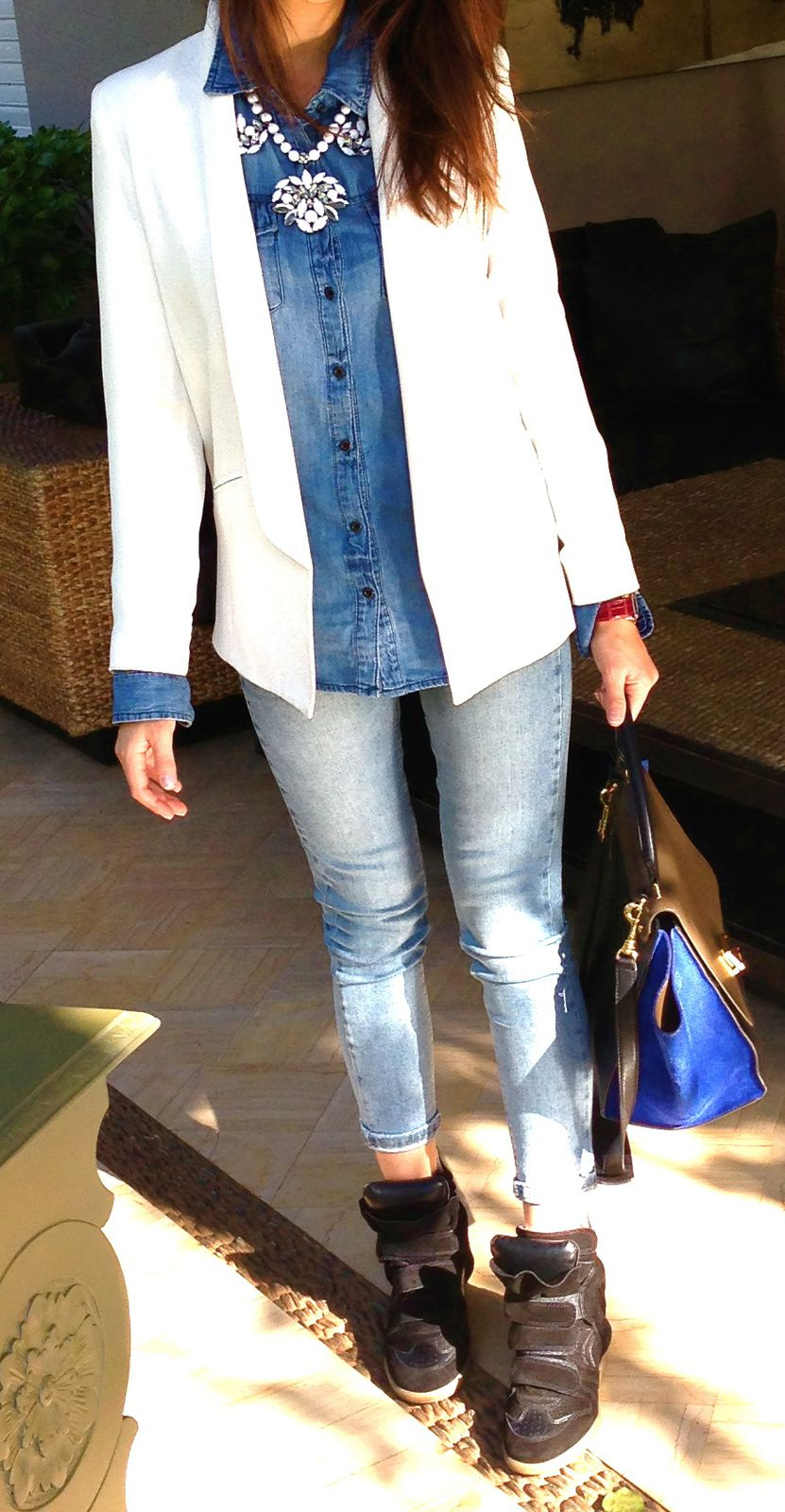 My Outfit : Total Denim Look