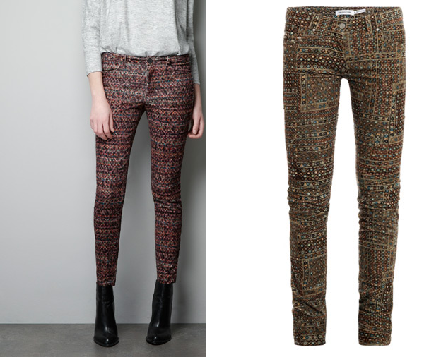 ZARA LEFT VS ISABEL MARANT ETOILE RIGHT