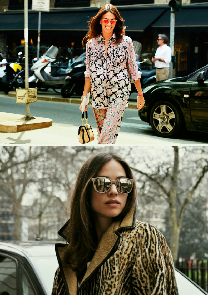 inspiration of the day...mirrored sunnies