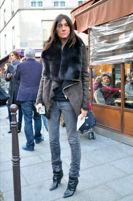 Inspiration of the day...Emmanuelle Alt