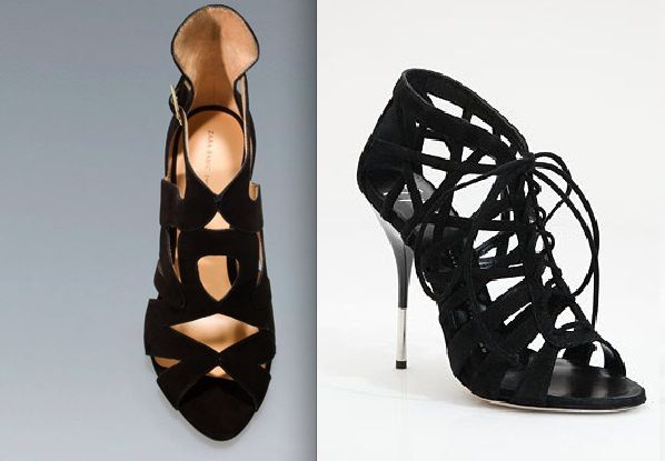 ZARA RIGHT VS ZANOTTI LEFT