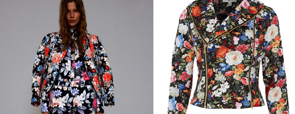 CELINE LEFT VS TOPSHOP RIGHT