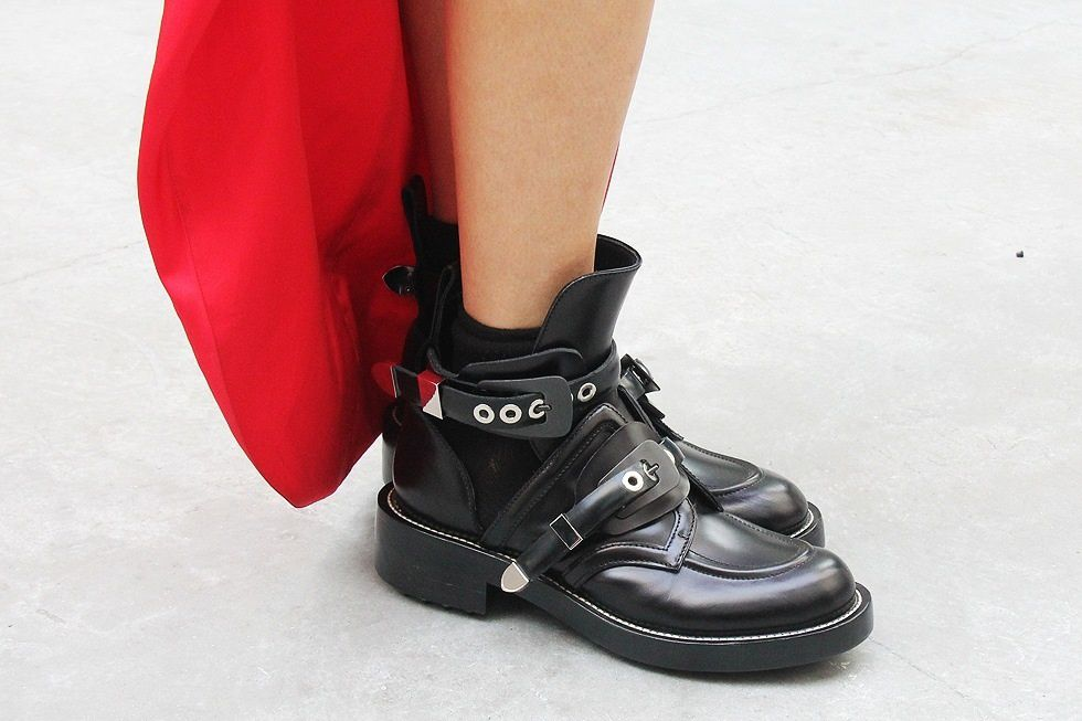 The balenciaga boots