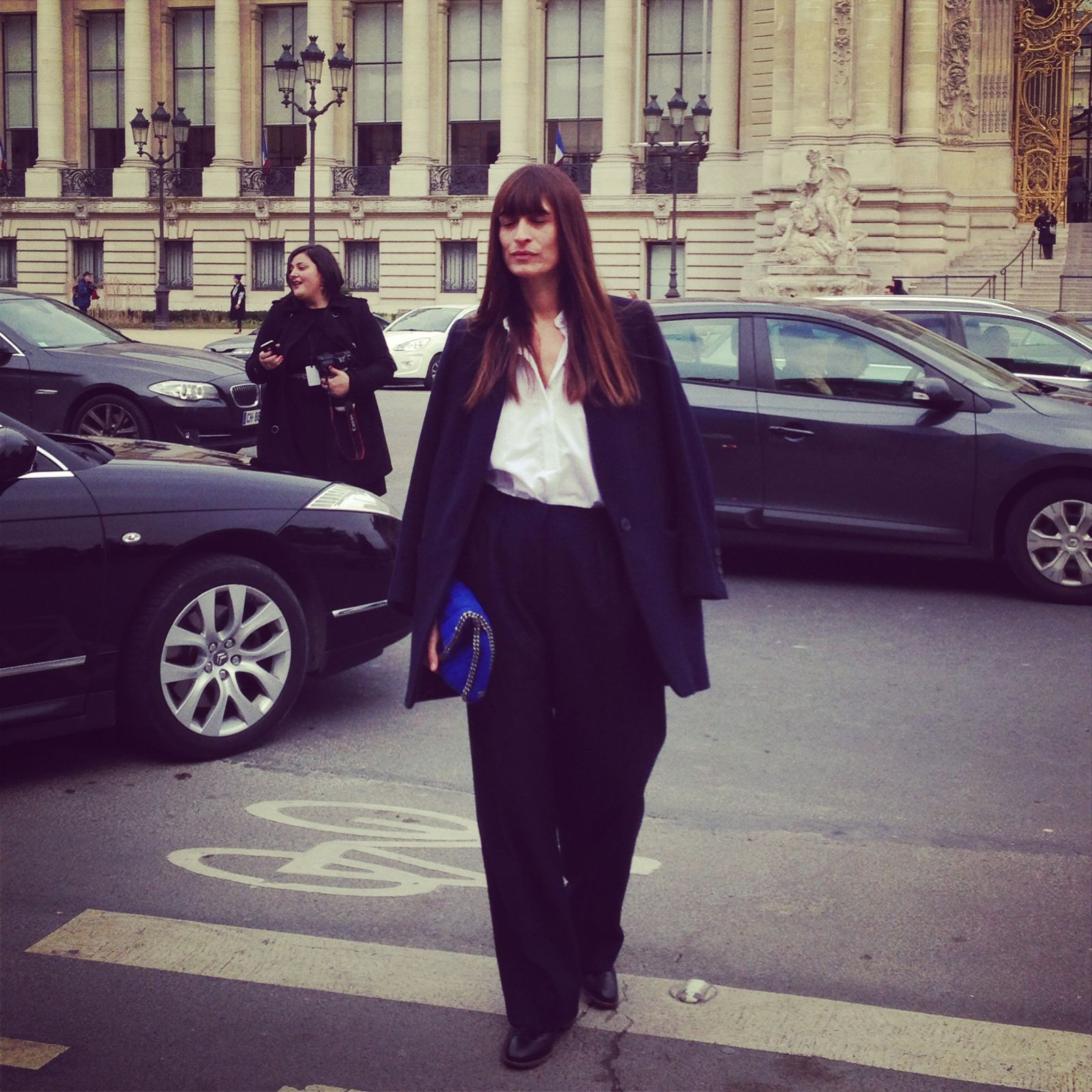 Caroline de Maigret - Stella Mccartney Bag