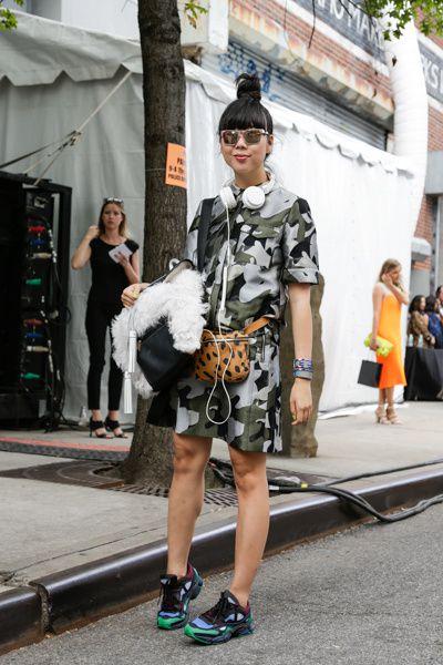 NYFW : First streetfashion