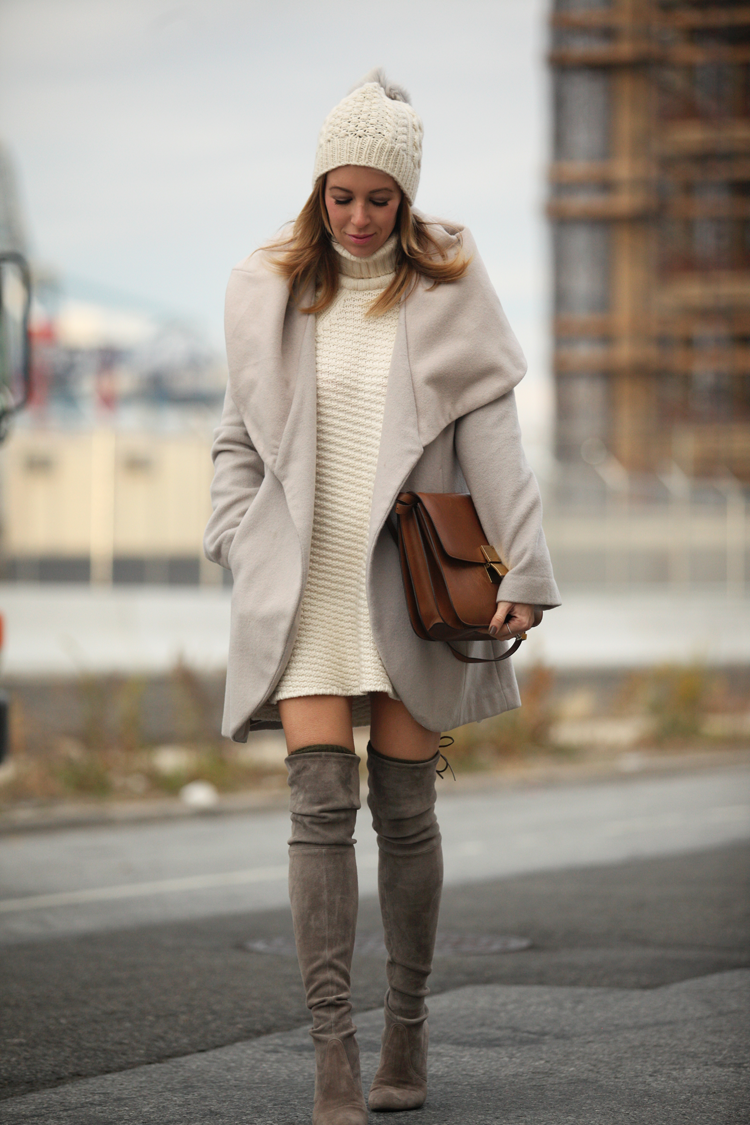 How to wear 'over the knee' boots ?
