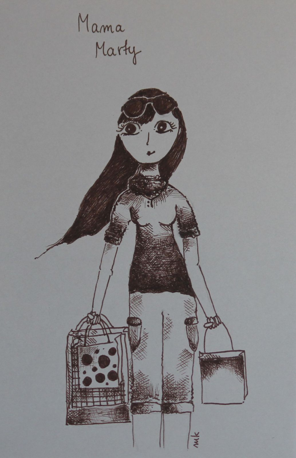 Mama Marty - Emilka lat 13
