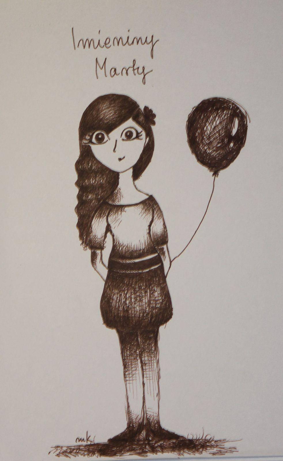 Imieniny Marty - Emilka lat 13