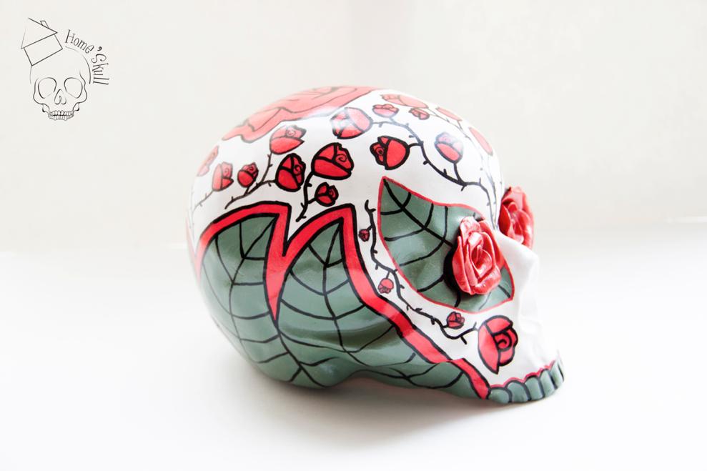 Skull Lady Rose &lt&#x3B; VENDU &gt&#x3B;