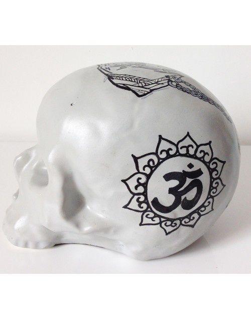 Tête de mort Skull Elephant Ganesh