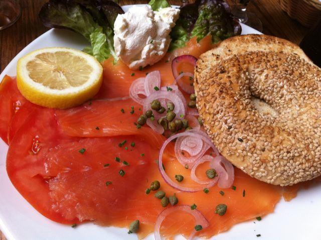 Bagel Saumon By Odelia