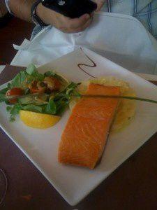 Oû manger un bon Saumon à Paris ? selon Odelia