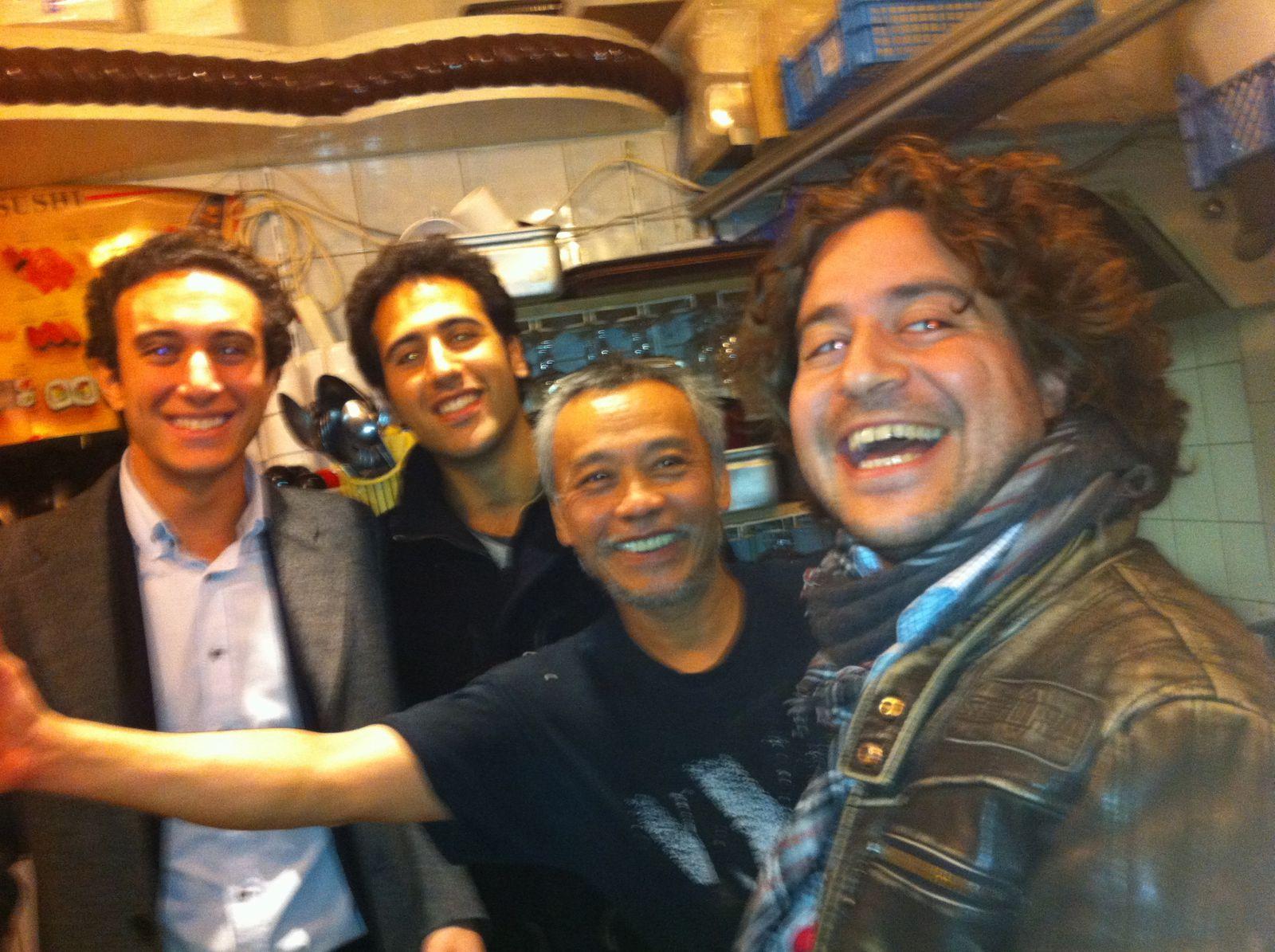 @koba, Paris avec les fans de «Food Reporter»