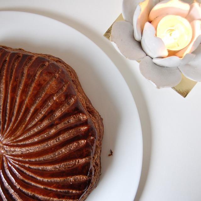 Galette au chocolat et Noix de coco de Anne B