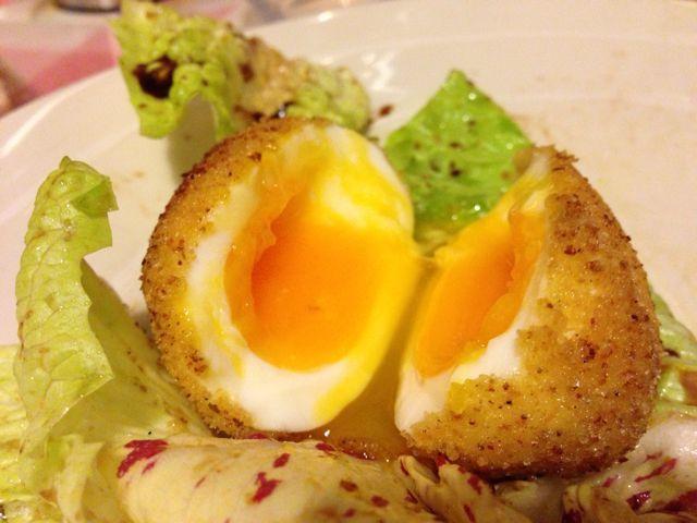 La recette de la semaine : les oeufs mollets frits!