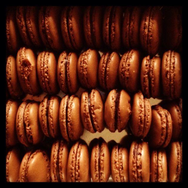 La recette de la semaine : les #macarons !