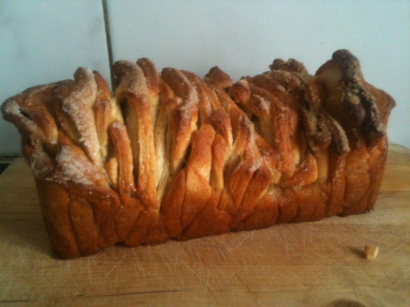 La recette de la semaine : le pull-apart bread !