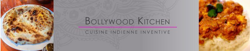 Défi Avril : la cuisine indienne avec Bollywood Kitchen!
