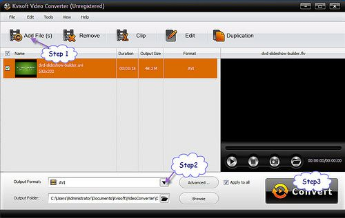 How to convert avi to mp4