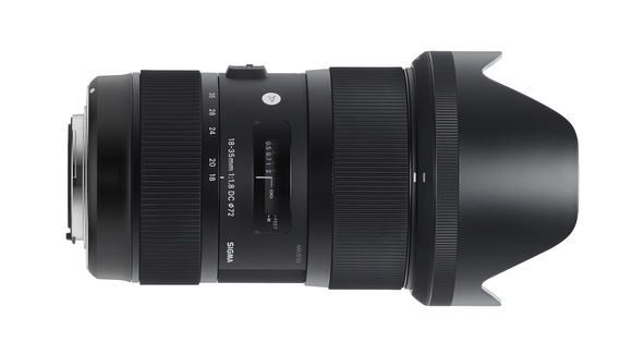 The World's first f/1.8 Constant Aperture from Sigma