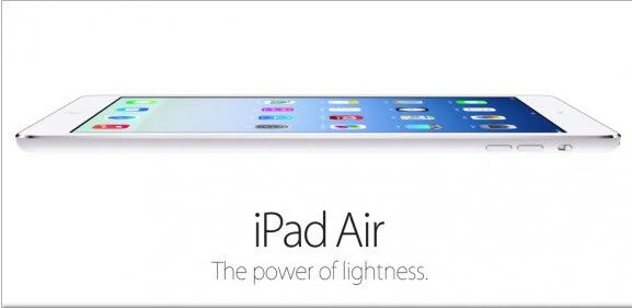 The Apple iPad Air