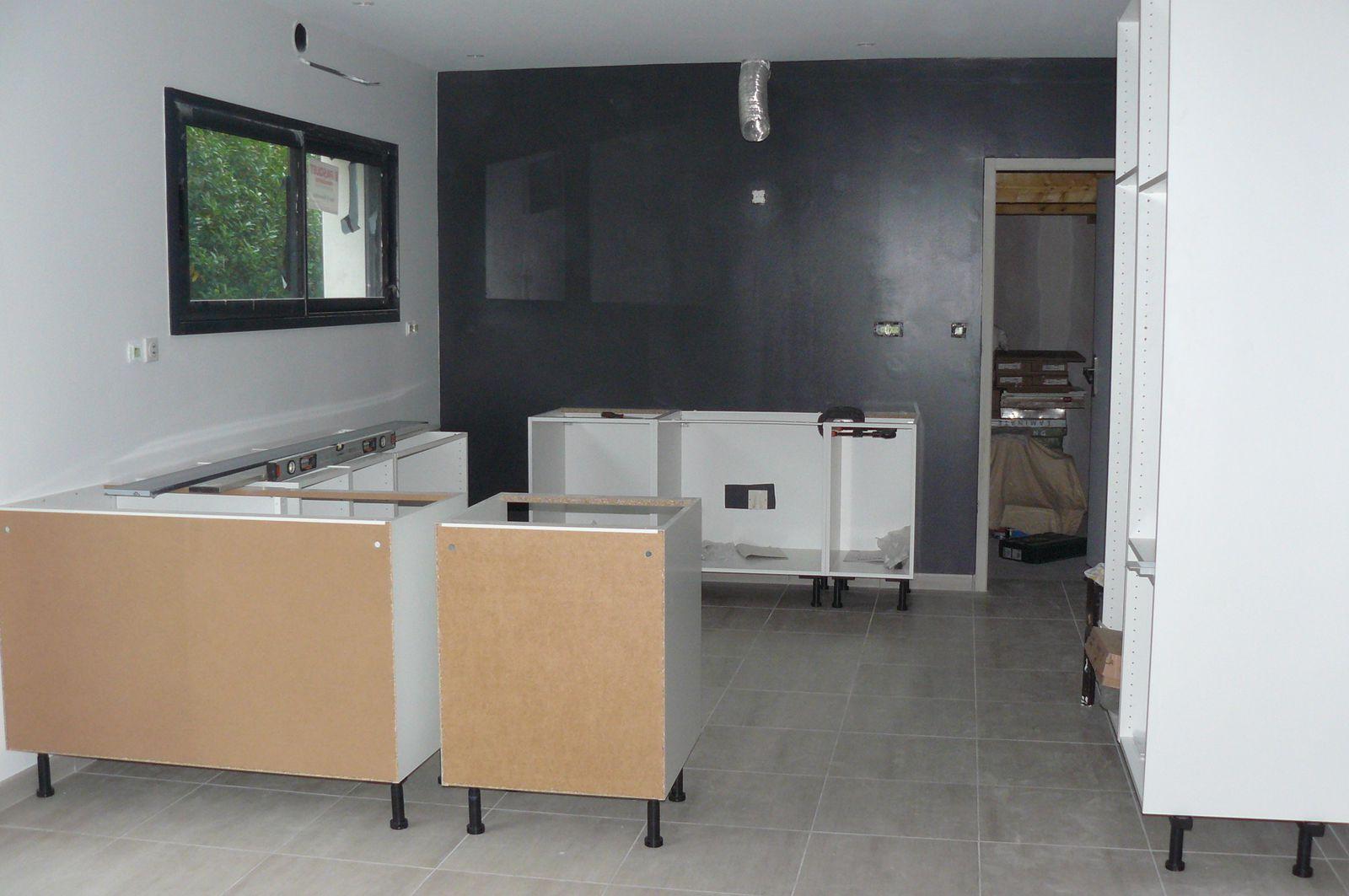 cuisine ikea notre projet de construction sur treilli res 44. Black Bedroom Furniture Sets. Home Design Ideas