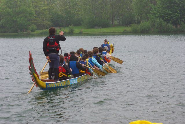 Initiation gratuite au DRAGON BOAT